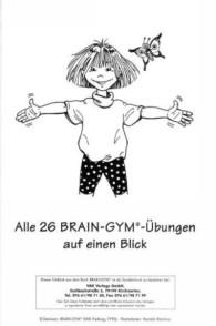 Faltprospekt Brain Gym